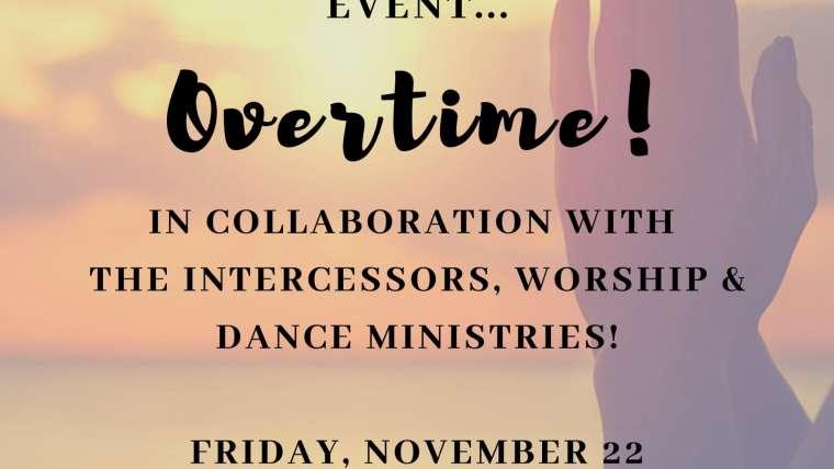 Prayer Extension Event